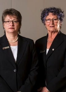 Rosalie Clifford and Sandi Trajdos